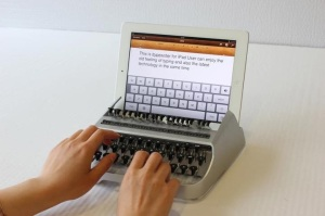 De iPad als typemachine, hang naar het verleden
